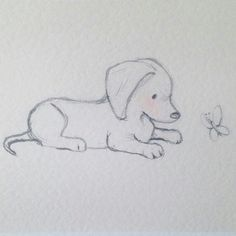 Pinterest: ThePrettiestSoul #DogDrawing