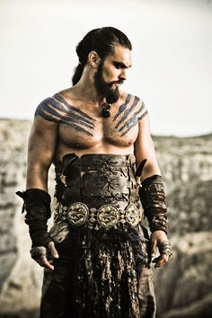 Jason Momoa As Khal Drogo From Hbo S Game Of Thrones Png Feel Free To Use Just Link Your Deviations In The Comments Section Below