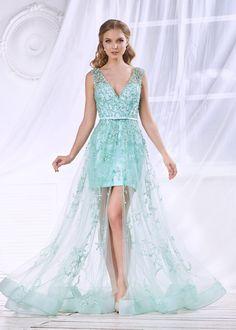 4a441b3e7545618 Платье на полупрозрачной сетке с пайетками CH001B купить в интернет-магазине  TobeBride