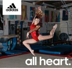 McKayla Maroney is ALL HEART in adidas Gymnastics!