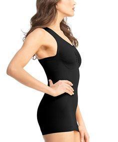 Loving this SlimMe by MeMoi Black Sport Shaper Tank - Women & Plus on #zulily! #zulilyfinds