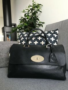 219b502b6f Black Mulberry Del Rey leather bag in very good condition!