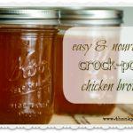 Great Chicken Stock Recipe
