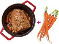 12 Little Tricks To Make Your Life Even Healthier: Pot Roast + Carrots  http://www.prevention.com/health/healthy-living/healthy-power-pairs?s=4&?utm_source=zergnet.com&utm_medium=referral&utm_campaign=zergnet_150740
