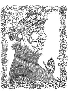 Adult Summer Coloring Pages Elegant Giuseppe Arcimboldo Summer Masterpieces Adult Coloring Pages Summer Coloring Pages, Printable Adult Coloring Pages, Flower Coloring Pages, Christmas Coloring Pages, Animal Coloring Pages, Abstract Coloring Pages, Mandala Coloring Pages, Coloring Pages To Print, Free Coloring Pages