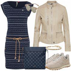 Frühlings-Outfits: SunniesUp bei FrauenOutfits.de #frühling #frühjahr #frühjahrsmode #mode #trend #trend2018 #look #style #damenoutfit #frauenoutfit #damenmode #frauenmode #kleidung #bekleidung #nike #ragwear #kleid #lederjacke