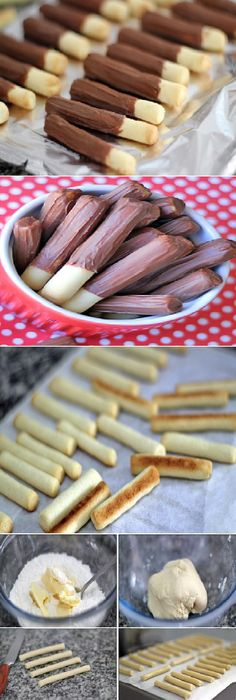 Cómo hacer Palitos de Chocolate Caseros.   #receta #recipe #casero #torta #tartas #pastel #nestlecocina #bizcocho #bizcochuelo #tasty #cocina #chocolate   Mezclar todo con las manos muy bien , mismo si la mante...