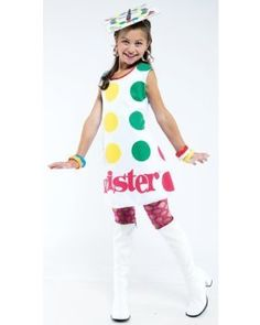 Twister Dress Child S 4-6 Costume Item - Papermagic @ niftywarehouse.com #NiftyWarehouse #Halloween #Scary #Fun #Ideas