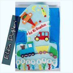 1 yaş pastası , cocuk pastası, cake, sugar cake