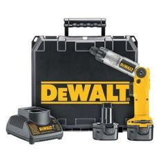 Dewalt Tools 7.2V Heavy-Duty Two Position Cordless Screwdriver Kit DWTDW920K-2