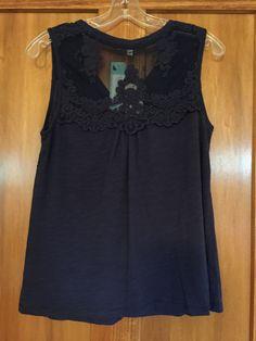 July 2015 Fix (Skies are Blue – Abiga Lace Detail Knit Tank - BACK)