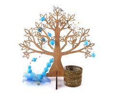 Wooden Jewelry Tree  / Earring Holder / Jewelry by JVKWOODWORK, $23.50