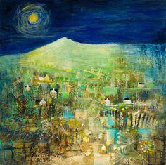 Bennachie as painted by Kanita Sim