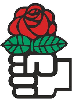 The red rose is a symbol of Social democracy.