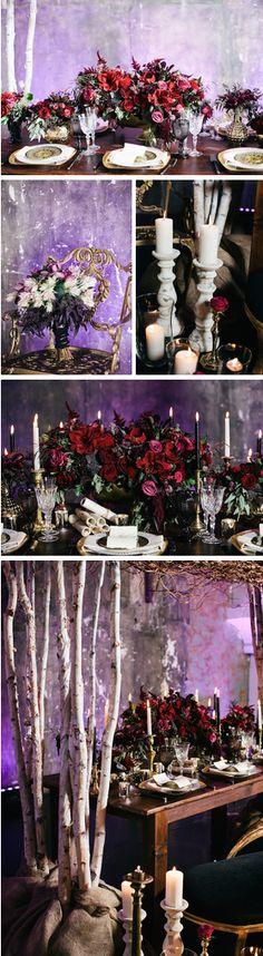 Romeo & Juliet Inspired Shoot -- Renata De Thomasis Events, Laura May Photography, D & D Florals
