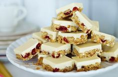 White Chocolate Tiffin | recipe by Jo Wheatley, GBBO s2 winner, via Good to Know