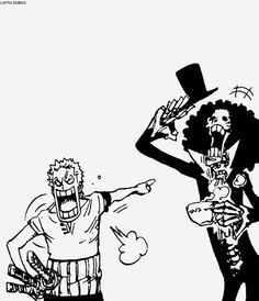 Zoro has had enough of Luffy's recruiting strategies.