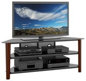 """Corliving - Tv Stand For Most Flat-panel Tvs Up To 68"""" - Espresso (776069998205)"""