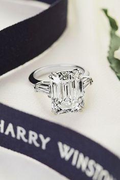 Incredible Harry Winston Engagement Rings ❤️ See more: http://www.weddingforward.com/harry-winston-engagement-rings/ #weddings #BridalJewelry