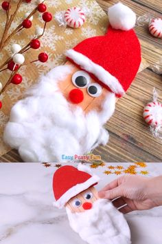 Today we are showing you how you can easily make a craft sticks Santa craft. # DIY Gifts for girls Craft Sticks Santa Craft – Christmas Crafts for Kids Christmas Crafts For Kids To Make, Easy Halloween Crafts, Handmade Christmas Decorations, Christmas Activities, Diy Christmas Ornaments, Kids Christmas, Christmas Presents, Christmas Costumes, Holiday Decorating