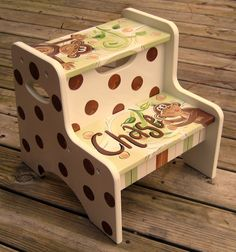 Step Stools Stools And Hand Painted On Pinterest