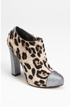"""Sam Edelman """"Felix"""" booties in snow leopard. I found them at Nordstrom online. Too pretty!!! Needless to say I have a pair on order!!"""