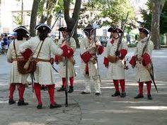 Image result for Bandera coronela de un regimiento español. Siglo XVIII