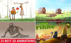 25 Best 2D Animation Videos and Short films for your inspiration. Read full article: http://webneel.com/2d-animation-best | more http://webneel.com/animation | Follow us www.pinterest.com/webneel