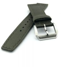 Kevlar Fabric Strap w/i Leather lining, Green for IWC  | Straps House
