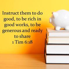 1 Tim 6:18