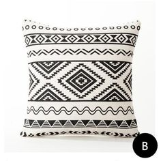 Modern minimalist kilim pillow linen geometric throw pillows for brown couch
