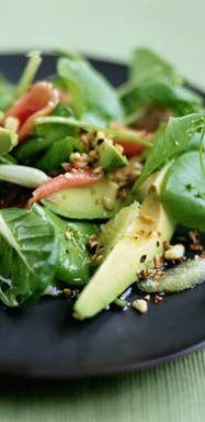 Chicken, Asparagus & Avocado Salad