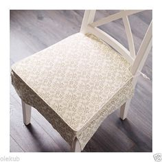 Ikea-Elsebet-Chair-Pad-Beige-Indoor-Outdoor-Patio-Kitchen-Office-Seat-Cushion