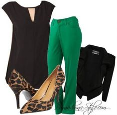 Ideas how to wear green pants summer Casual Work Outfits, Business Casual Outfits, Mode Outfits, Fashion Outfits, Outfit Work, Outfit Ideas, Outfits Pantalon Verde, Trouser Outfits, Office Wear