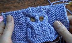 Diy Crafts - Child Knitting Patterns knit cap in solely 45 rounds --- owl motif Baby Knitting Patterns Supply : Mütze stricken in nur 45 Runden- Diy Crafts Knitting, Diy Crafts Crochet, Knitting For Kids, Yarn Crafts, Crochet Projects, Owl Patterns, Baby Knitting Patterns, Knitting Stitches, Knitting Designs