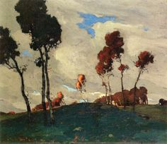 Jonas Lie - Autumn Sunset