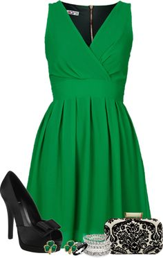 """""""St. Patrick's day party"""" by ashton-kate on Polyvore"""