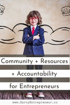 Community Resources Accountability for Entrepreneurs PINTEREST