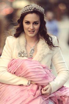 Blair Waldorf having her one Princess moment