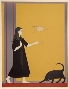 Artist:Will Barnet, American (1911 - )  Title:Youth  Year: 1970  Medium:	 Lithograph on Arches, Signed and Numbered in Pencil