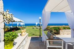 Lili Sea Front Apartment,unique escape by the sea! - Condominiums for Rent in Rethimnon, Crete, Greece House Front, My House, Condominium, Lawn And Garden, Ideal Home, Gazebo, Lily, Patio, Vacation