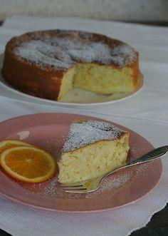 - Italiensk Riskake med Appelsin - Italian Rice and Orange Cake