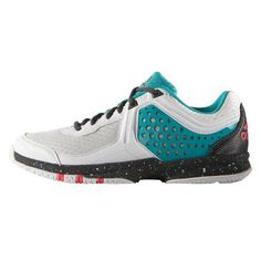 sports shoes ca680 69050 Chaussures adidas Counterblast 5 Femme Blanc Noir Turquoise