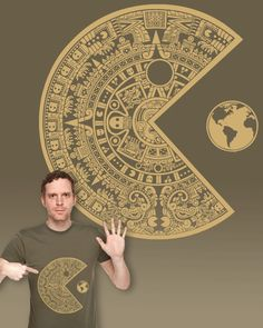 Pac-Mayan t-shirt design on Threadless, vote for it so we can see it printed! :)