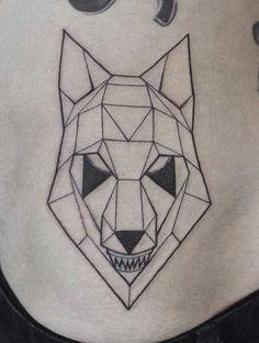 geometric-poly-wolf-tattoo.jpg (635×841)