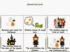 Practically Speeching: The Night Before Halloween - $1 packet! Pinned by SOS Inc. Resources http://pinterest.com/sostherapy.