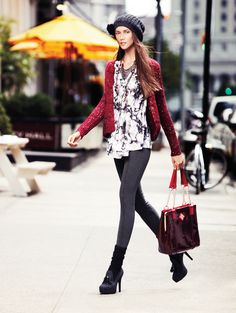Recharge the classic cardigan with a bright color. Simply Vera Vera Wang #Kohls