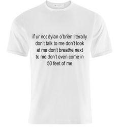 Ur not Dylan O'brien t shirt by horsewaffles on Etsy