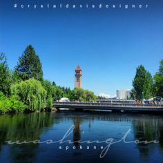 Spokane, Washington  #crystaldavisdesigner