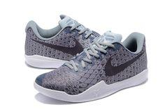 7fc27e543786 Cheap Kobe 12(Xii) Gray Black White Basketball Shoes White Basketball  Shoes